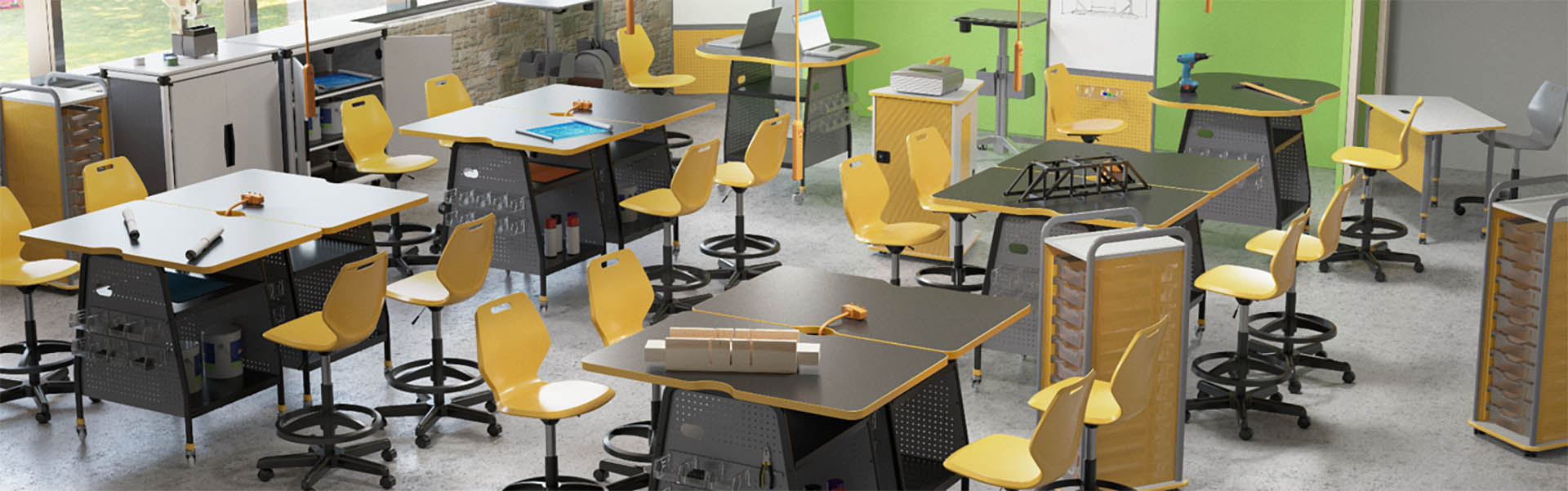 Classroom Design Considerations ~ Five key considerations when designing a makerspace